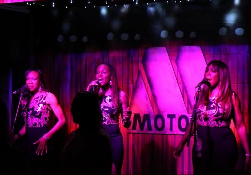 Trio black and gold